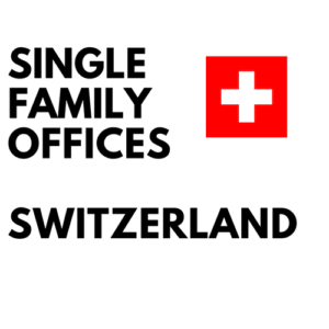 single family offices switzerland list database