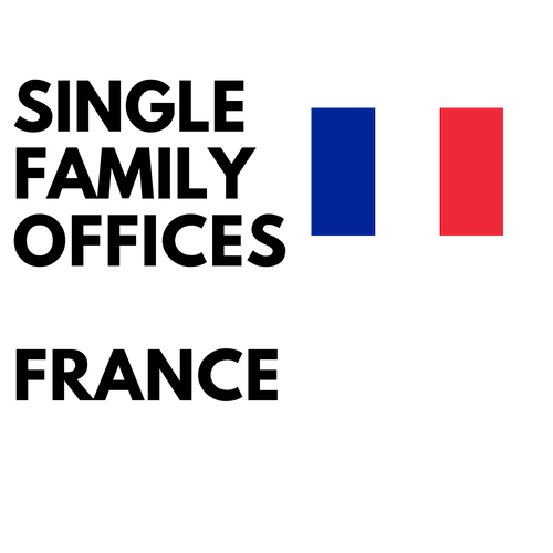 french single family offices list