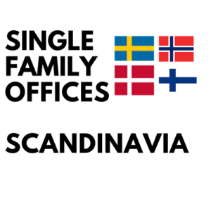sweden denmark norway finland single family offices list