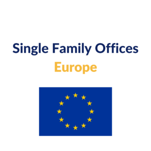 single family offices europe list