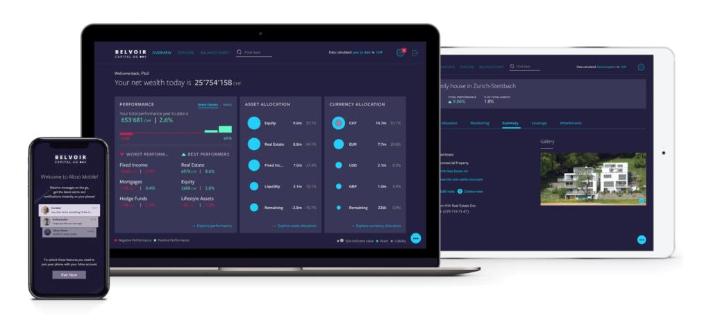 Belvoir Multi Family Office Uses Digital Altoo Wealth Platform