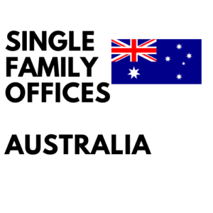 Single Family Office List Australia
