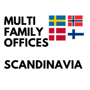 list multi family offices sweden norway denmark finland